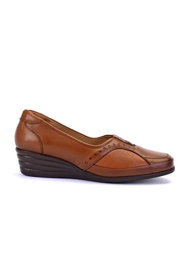 Forelli %100 Deri Ayakkabı Taba